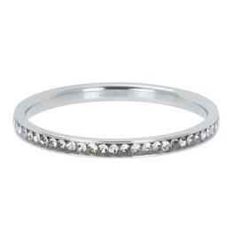 IXXXI IXXXI Zirconia Crystal ring Silver