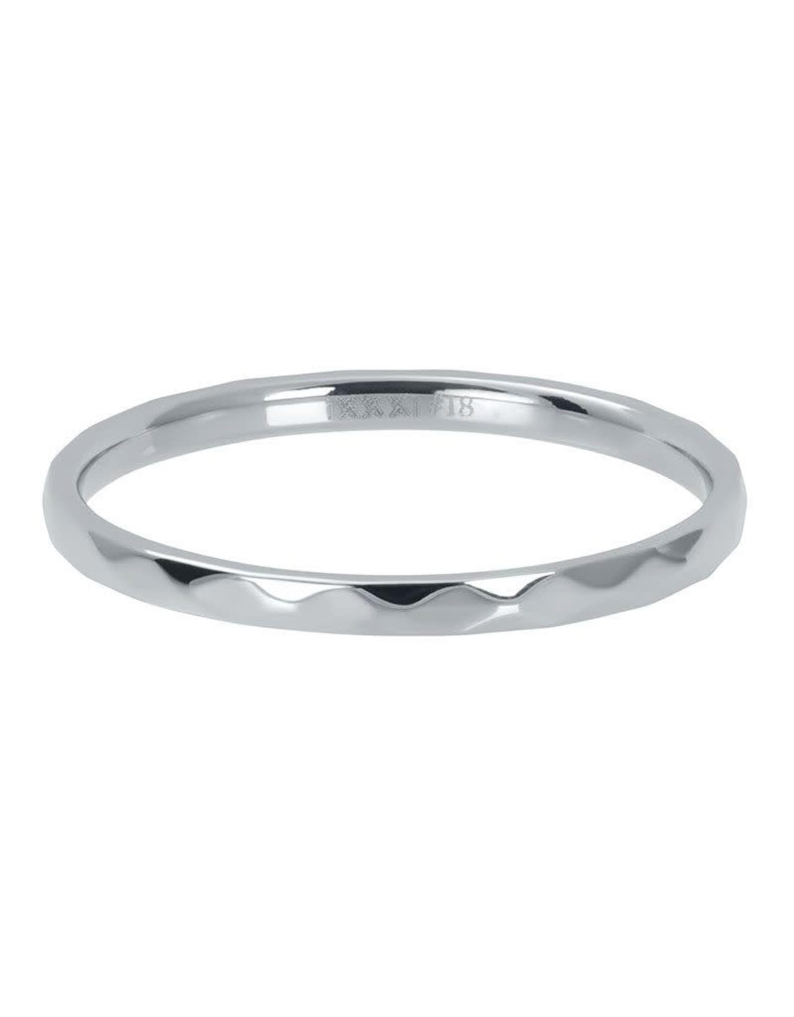 IXXXI IXXXI Hammerite ring Silver