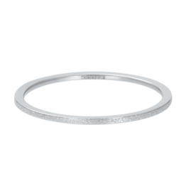 IXXXI IXXXI Sandblasted ring Silver
