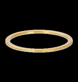 IXXXI IXXXI Sandblasted ring Gold