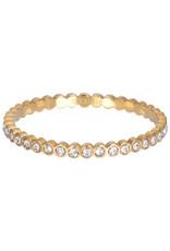 IXXXI IXXXI  Small Circle Stone ring Gold