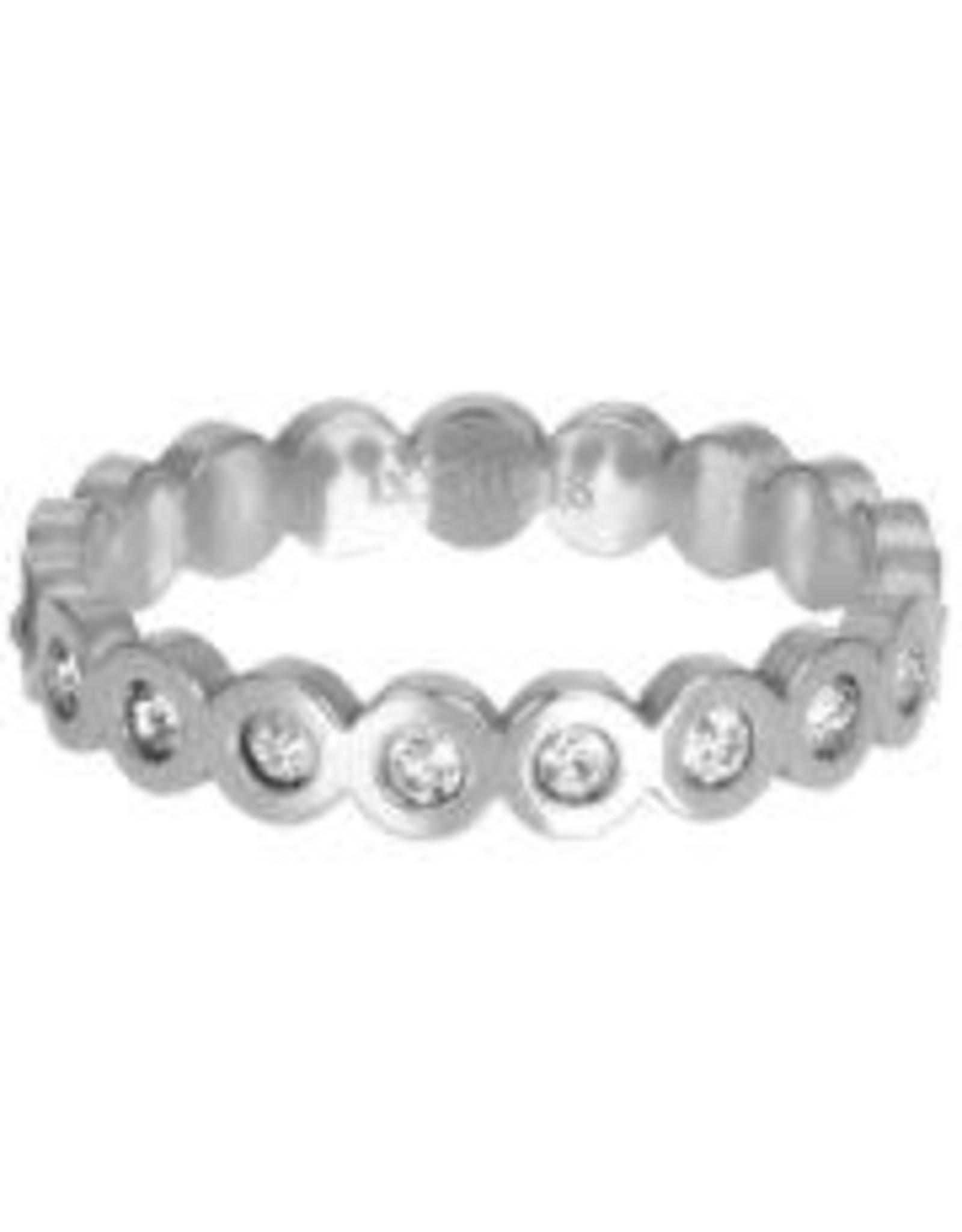 IXXXI IXXXI Big Circle Stone ring Silver