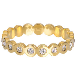 IXXXI IXXXI Big Circle Stone ring Gold