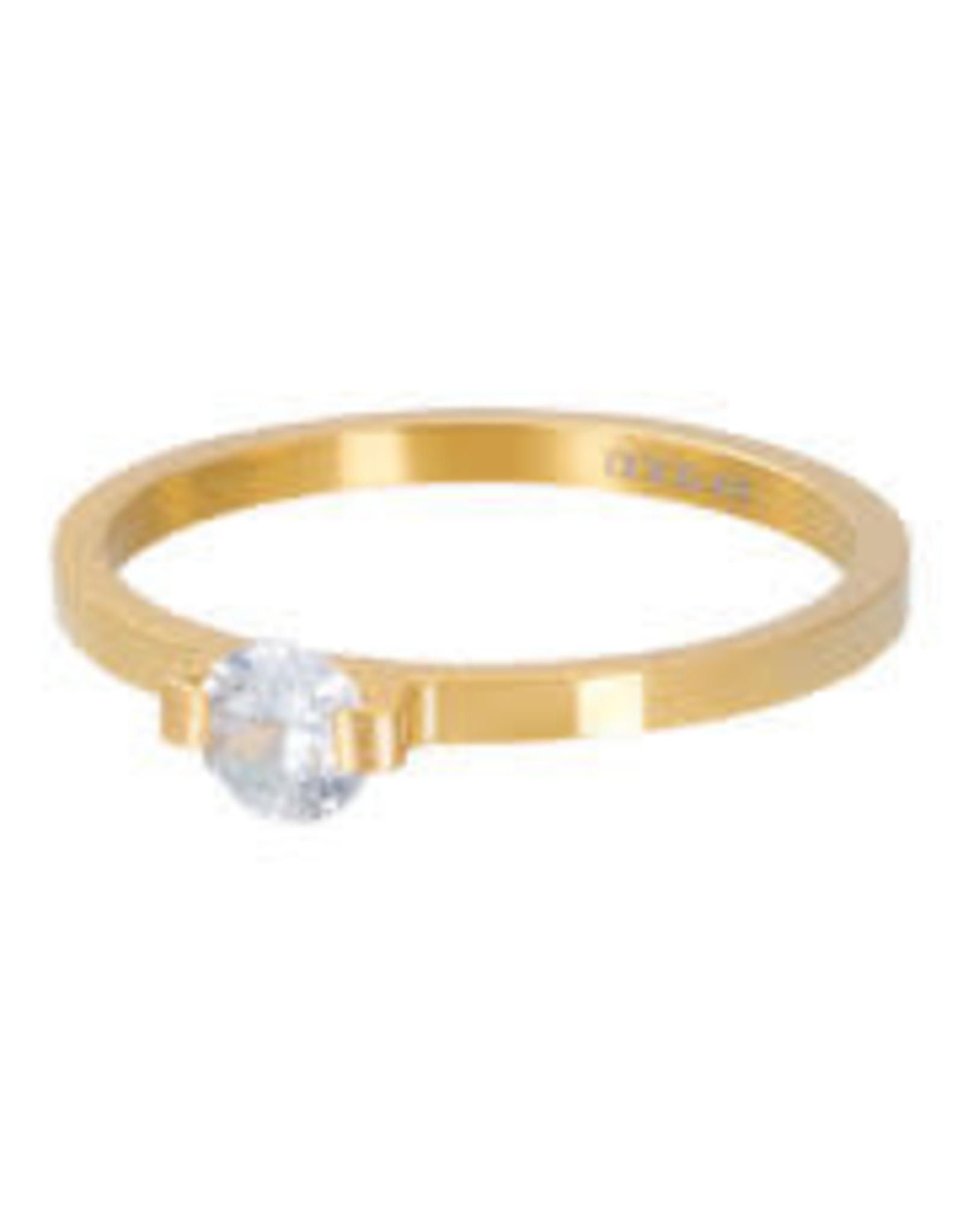 IXXXI IXXXI Mini Glamour Stone ring Gold