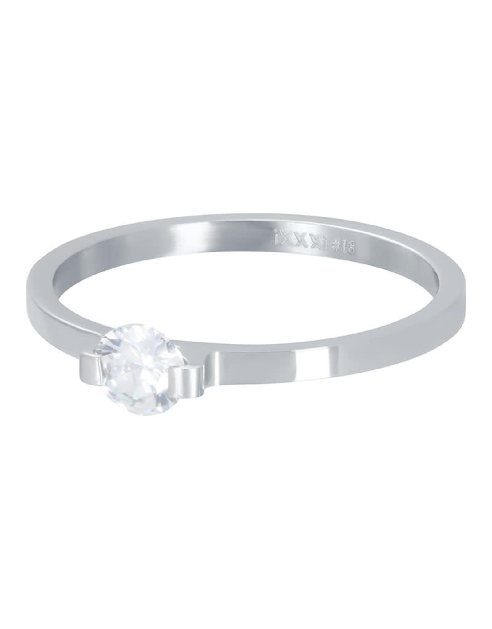 IXXXI IXXXI Mini Glamour Stone ring Silver