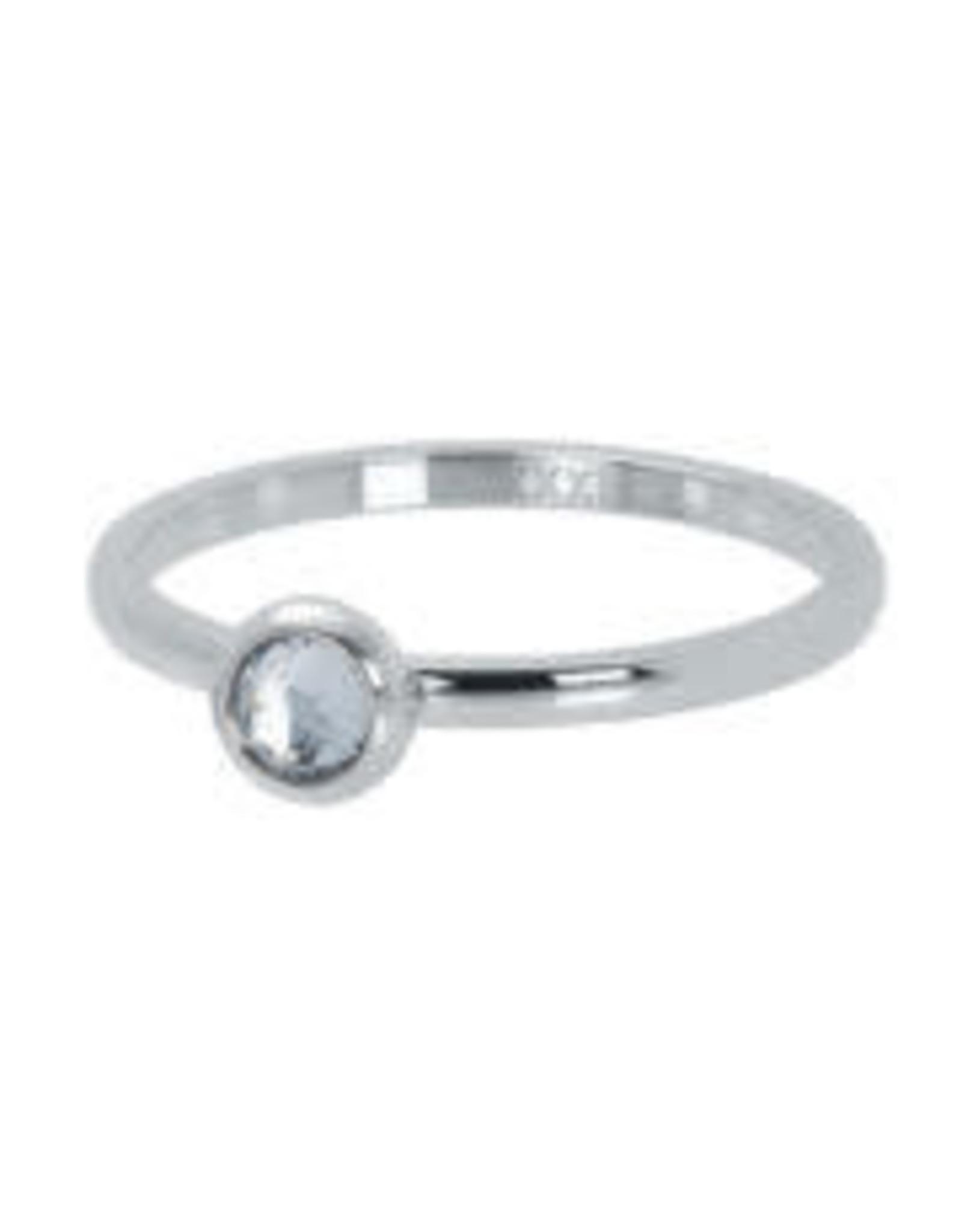 IXXXI IXXXI 1 Zirconia ring Silver