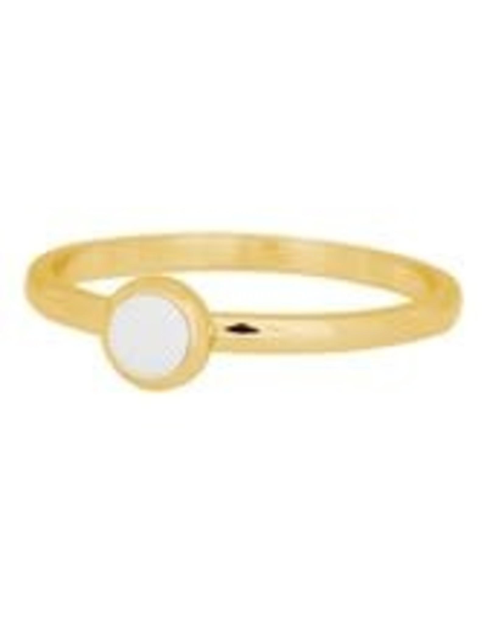 IXXXI IXXXI 1 Zirconia ring Gold