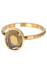 IXXXI IXXXI Glam Oval ring Gold