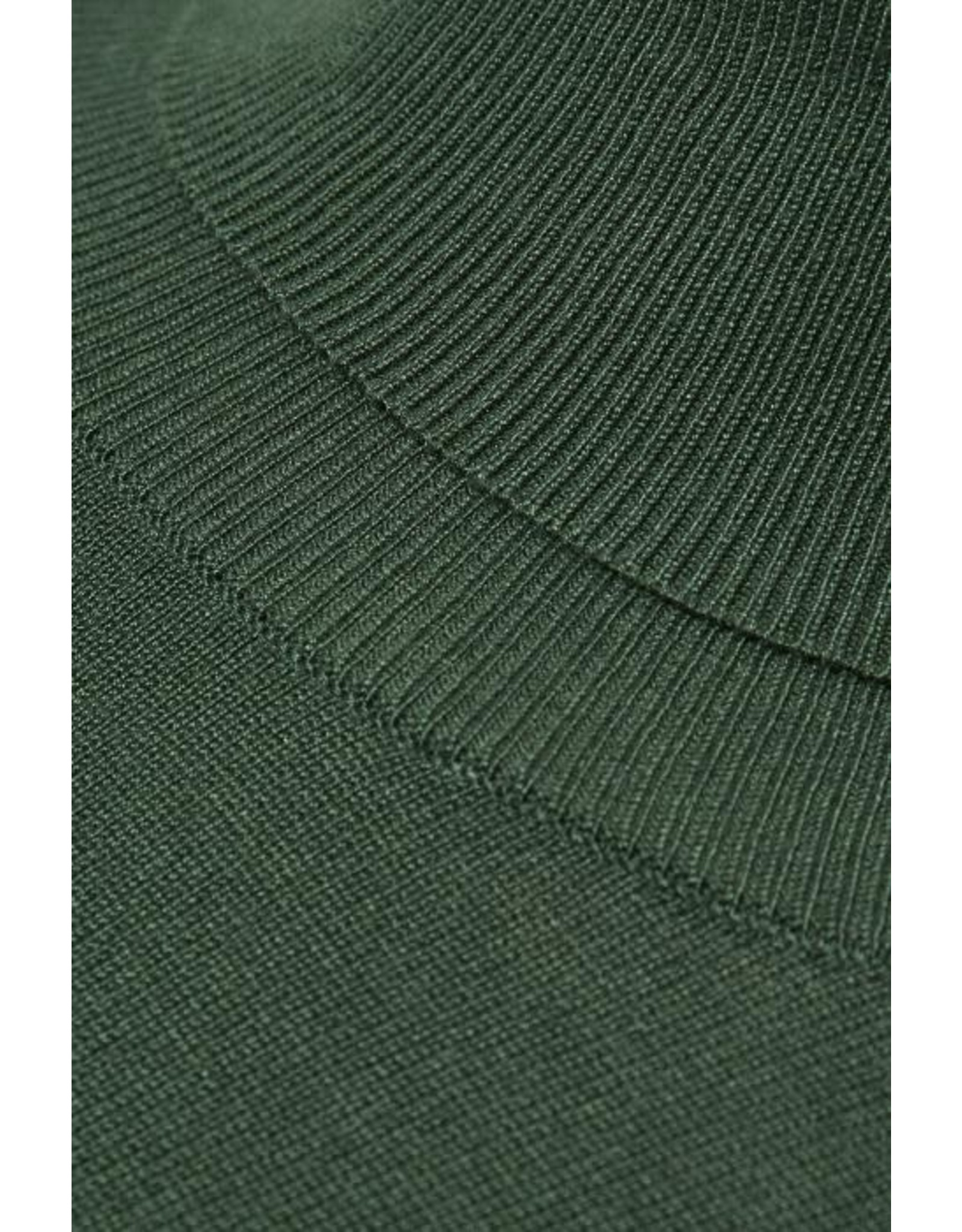 Kaffe Kaffe Astrid Roll Neck Dark Green