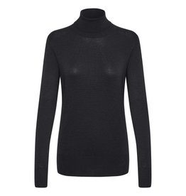 Kaffe Kaffe Astrid Roll Neck Black Deep