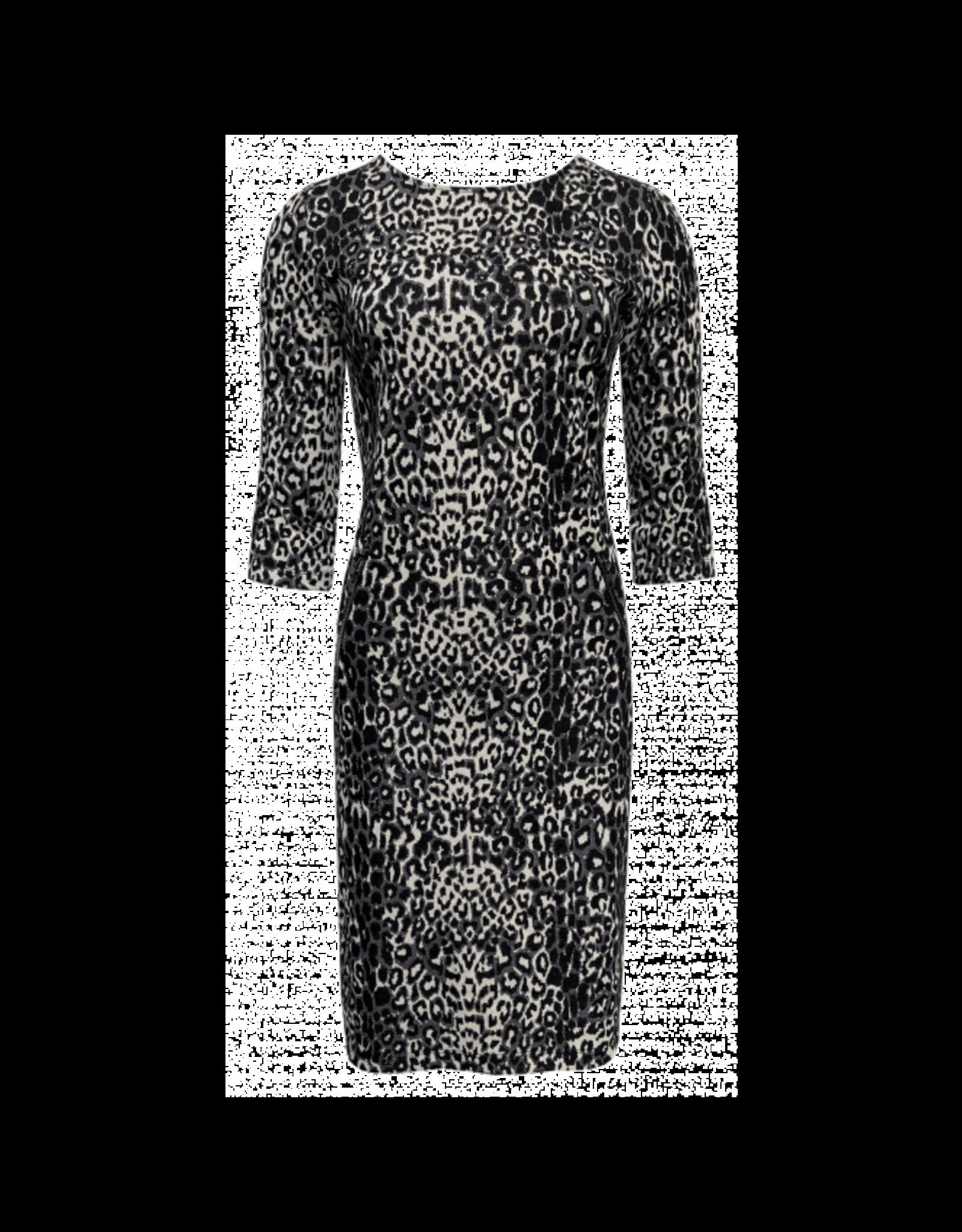 Elvira Elvira Dress Julia Jaquard Print E5-20-014