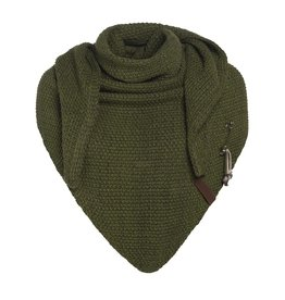Knit Factory Knit Factory  Coco Triangle Scarf  Khaki
