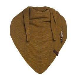 Knit Factory Knit Factory Coco Triangle Scarf Oker