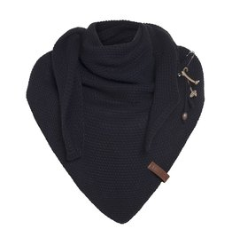 Knit Factory Knit Factory  Coco Triangle Scarf  Navy