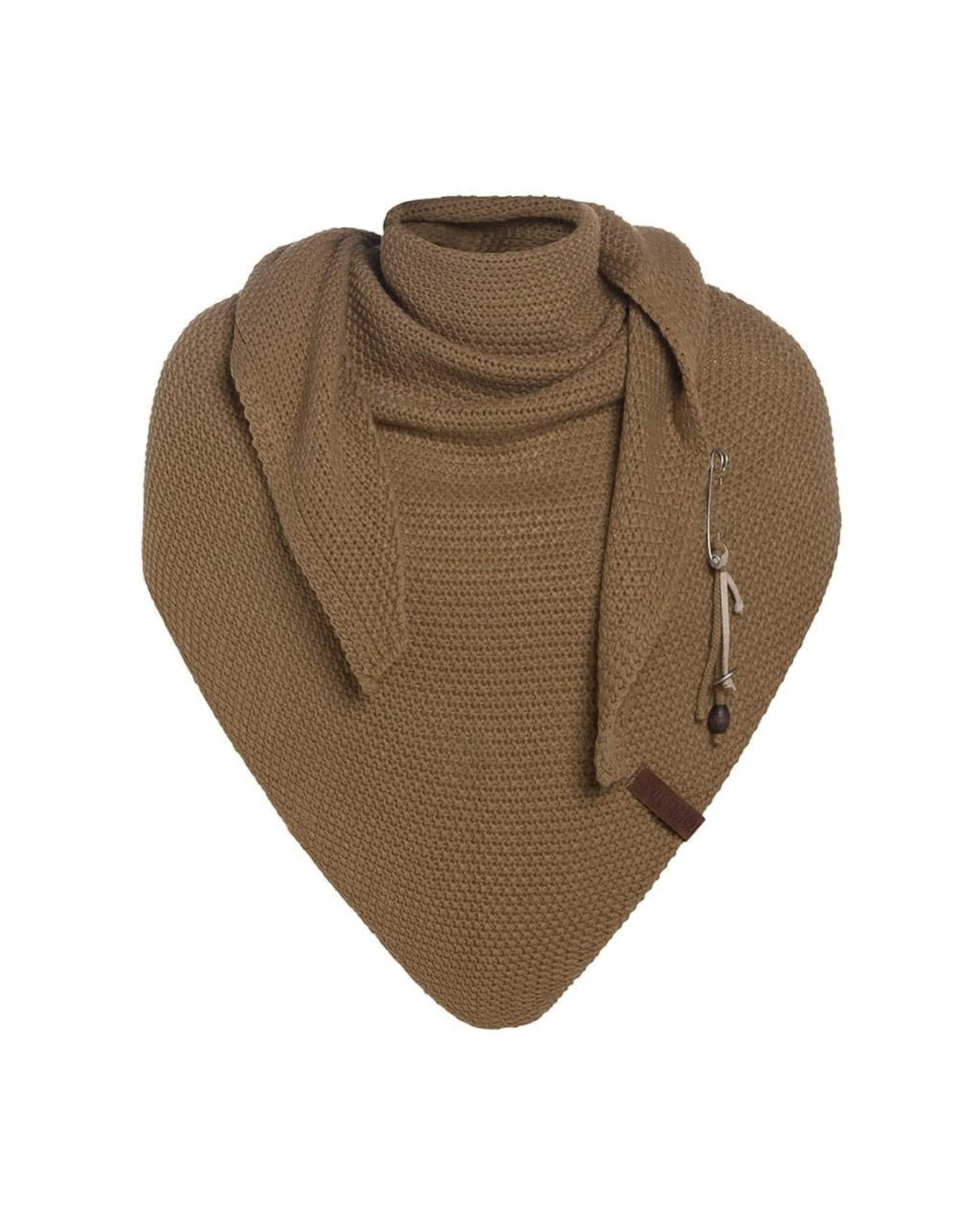 Knit Factory Knit Factory 1206020 Coco Triangle Scarf 190x85 New Camel