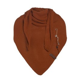 Knit Factory Knit Factory Coco Triangle Scarf Terra