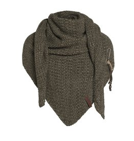 Knit Factory Knit Factory Coco Triangle Scarf Green/Olive