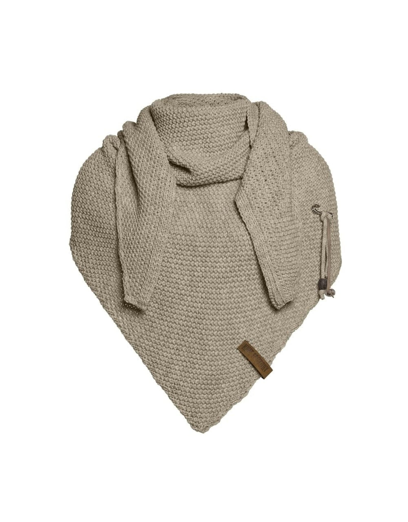 Knit Factory Knit Factory 1206033 Coco Triangle Shawl 190x85 Olive