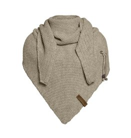 Knit Factory Knit Factory  Coco Triangle Shawl Olive