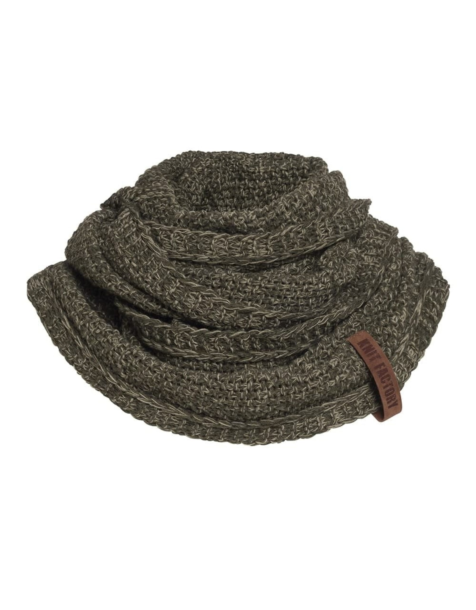 Knit Factory Knit Factory 1206644 Coco Infinity Scarf Green/Olive