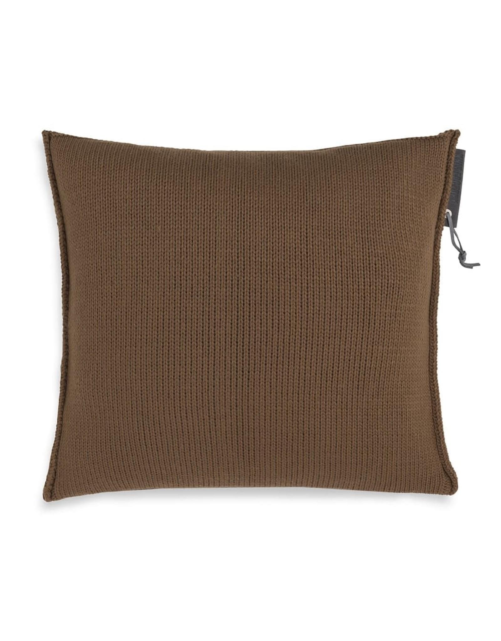 Knit Factory Knit Factory Cushion 50cm x 50cm Joly Tobacco