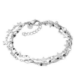 IXXXI IXXXI Bracelets Kenya (black bracelet) Silver