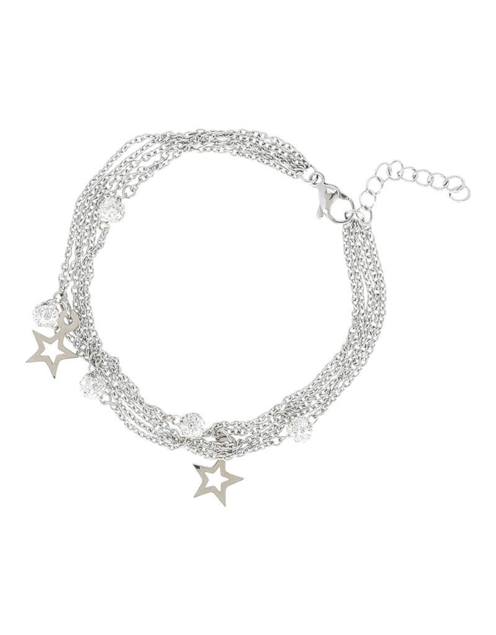 IXXXI IXXXI Bracelets Chain ball star Silver