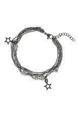 IXXXI IXXXI Bracelets Chain ball star Black