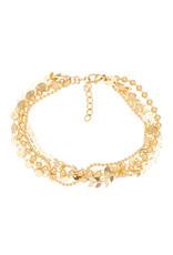 IXXXI IXXXI Arrow chain gold