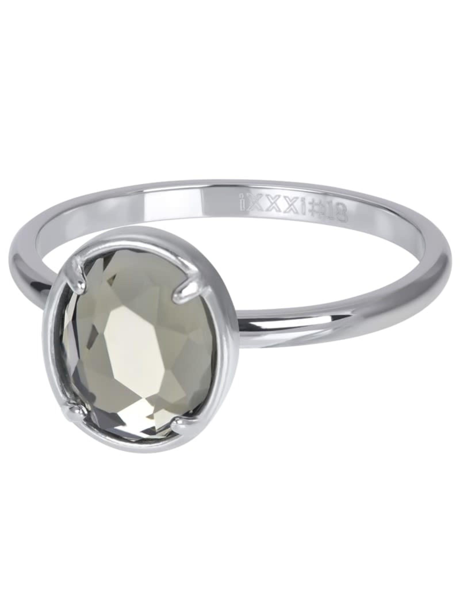 IXXXI IXXXI Glam Oval Crystal