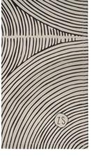 Zusss Zusss theedoek grafisch patroon zand