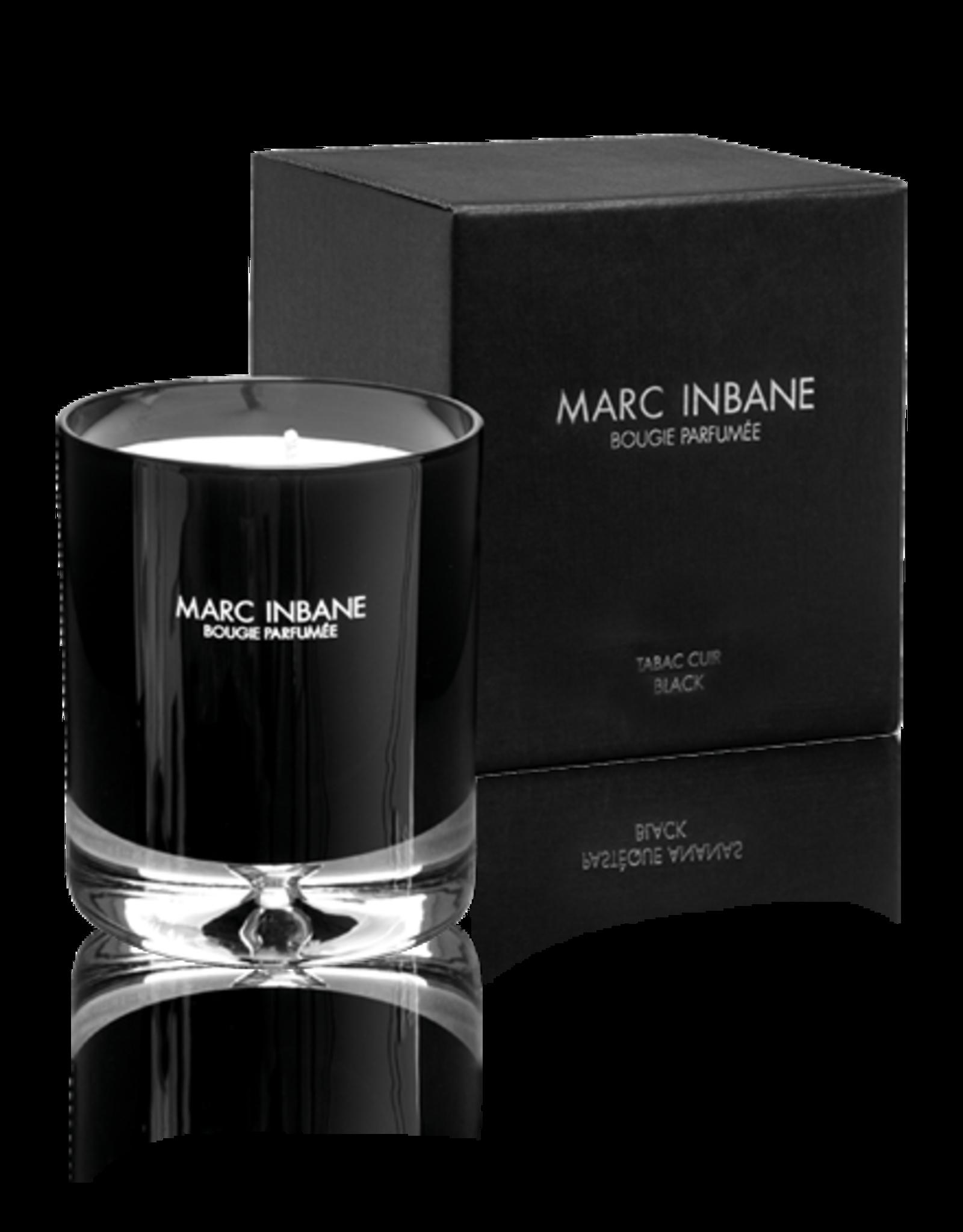 marc inbaine Bougie Parfumee Tabac Cuir Black