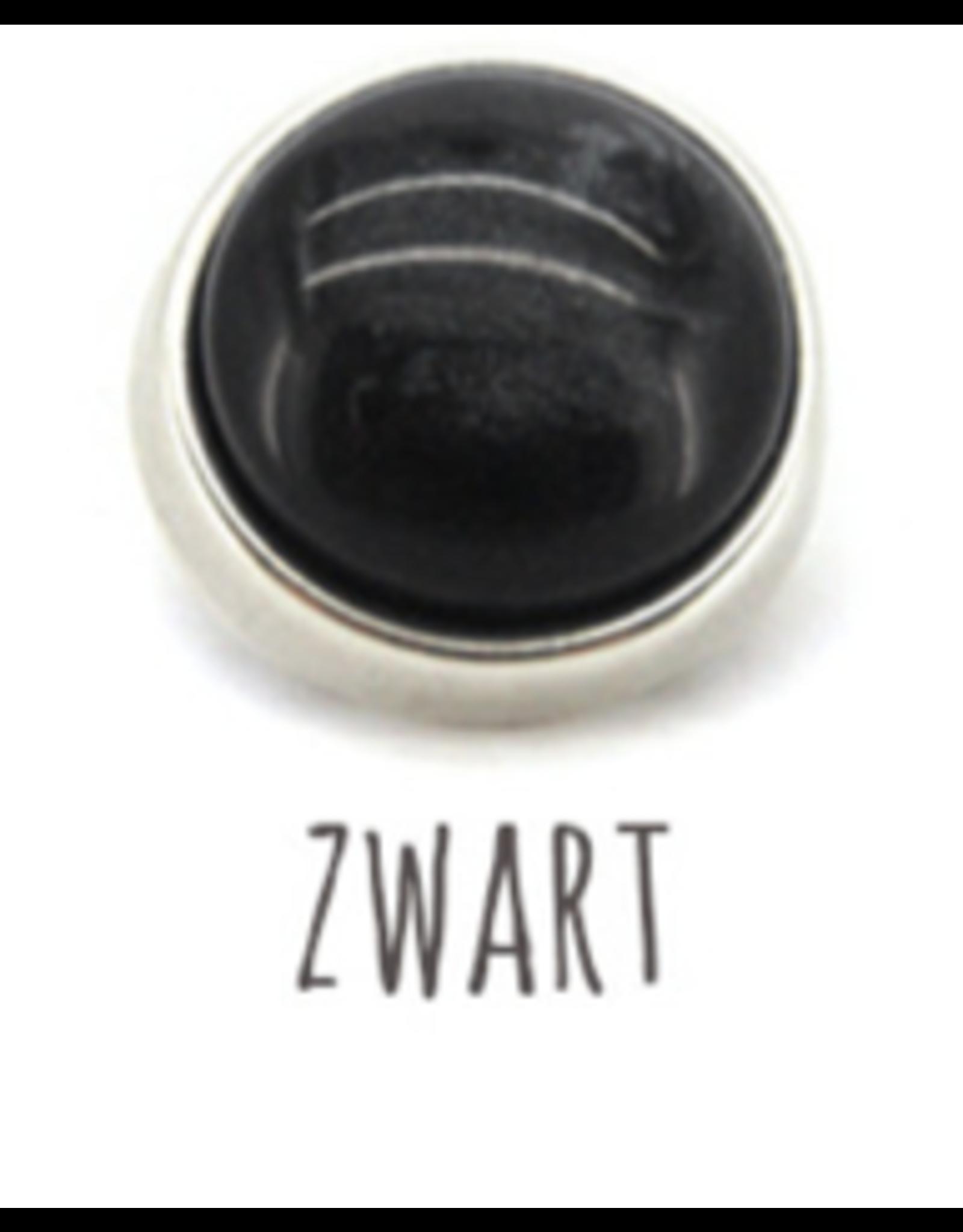qoss Qoss Marloes Zilver/Zwart Veertje