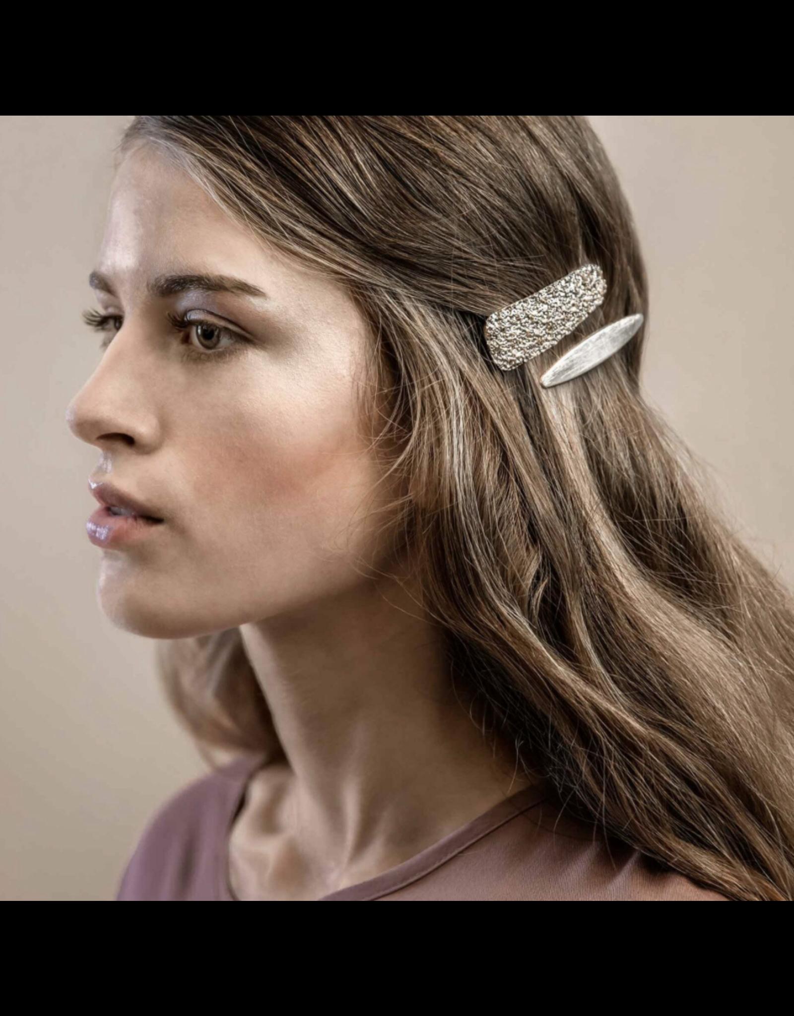 Dansk Dansk 4C3026 Slim Solid Hair Clip Gold Plating