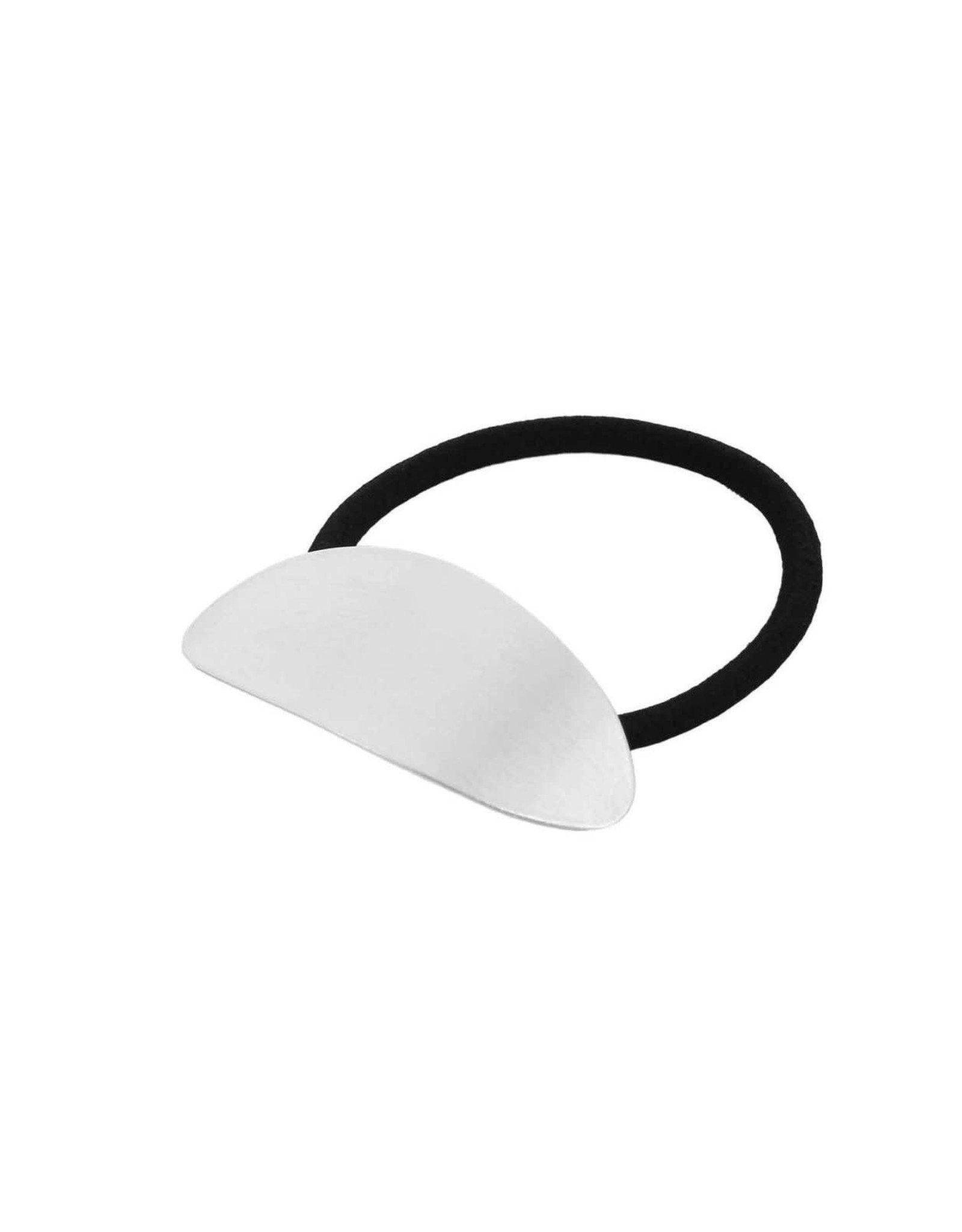 Dansk Dansk 4C3017 Oval hair elastic rhodium plating
