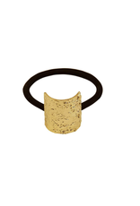 Dansk Dansk 4C3045 Textured Elastic Gold Plating