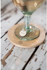 Zusss set van 6 wijnglas hangers