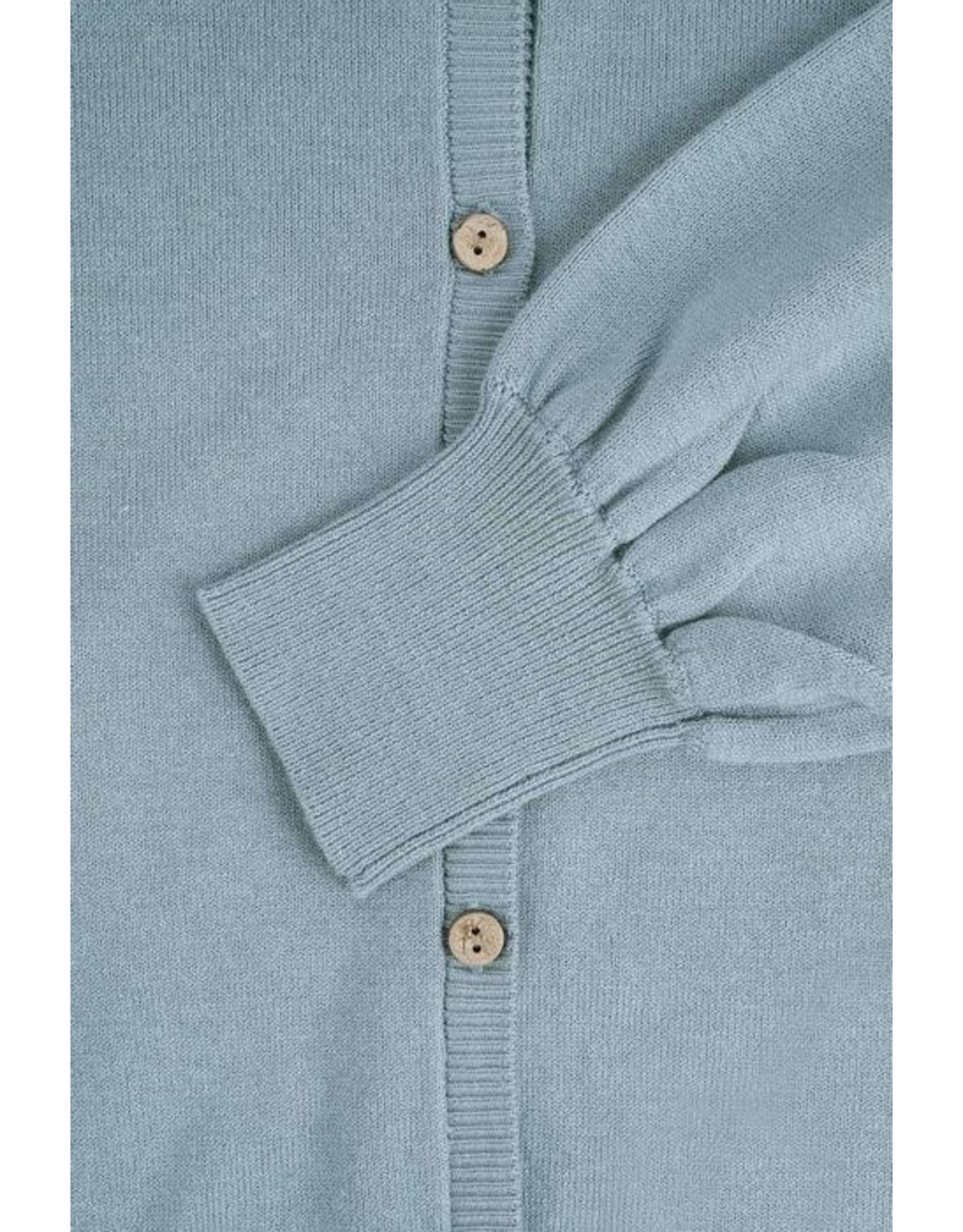Zusss Zusss Basic vestje Grijs-Blauw