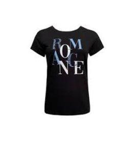 Elvira Elvira T-Shirt Romance Black E1 21-003