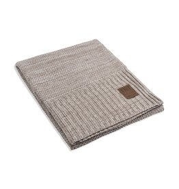 Knit Factory Knit Factory Zoe Plaid Beige Melee