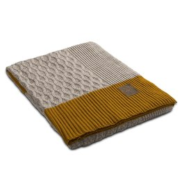 Knit Factory Knit Factory Joep plaid Beige Melee