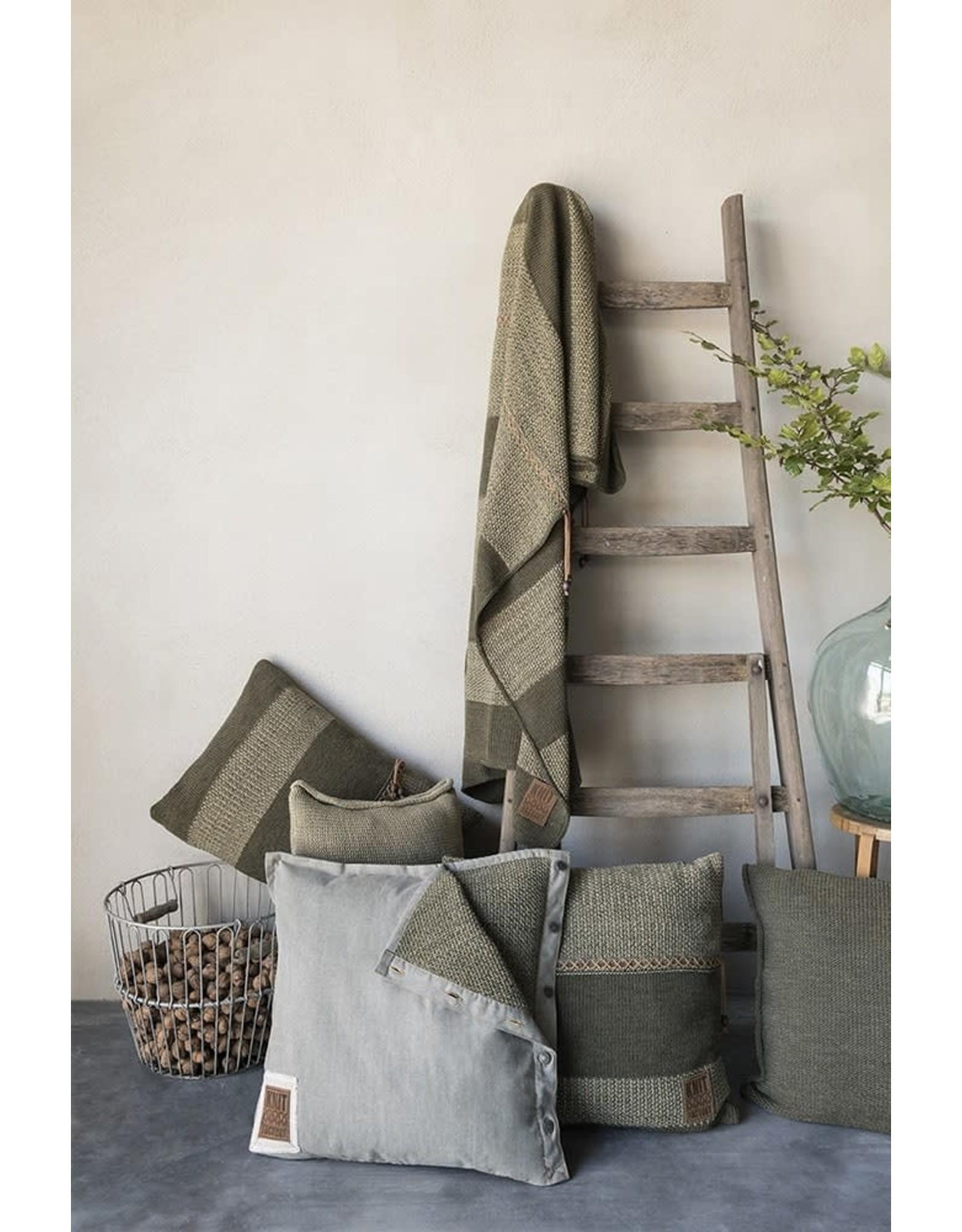 Knit Factory Knit factory roxx plaid groen/olive
