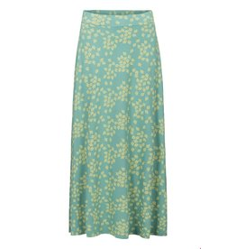 zilch Zilch Skirt Long Leaves Porcelain