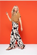 zilch Zilch Blouse Wide Triangle Rust