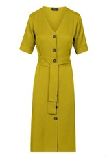 zilch Zilch Dress Buttons Lime