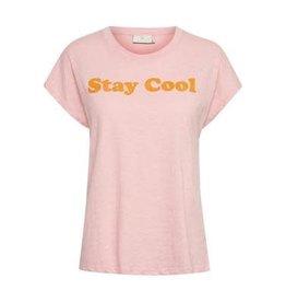 Kaffe Kaffe KAcollia T-shirt Candy Pink