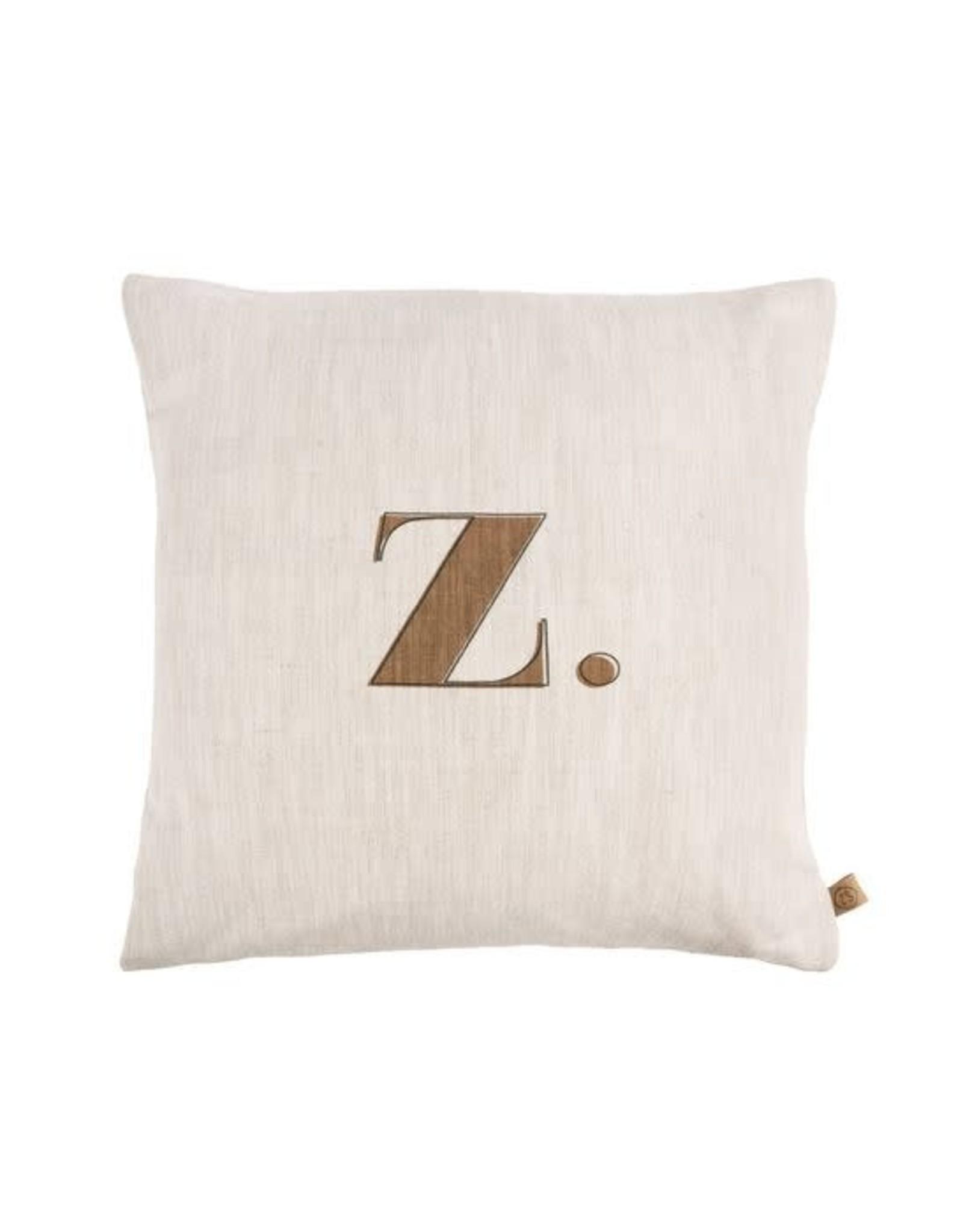 Zusss Zusss kussen met letter Z