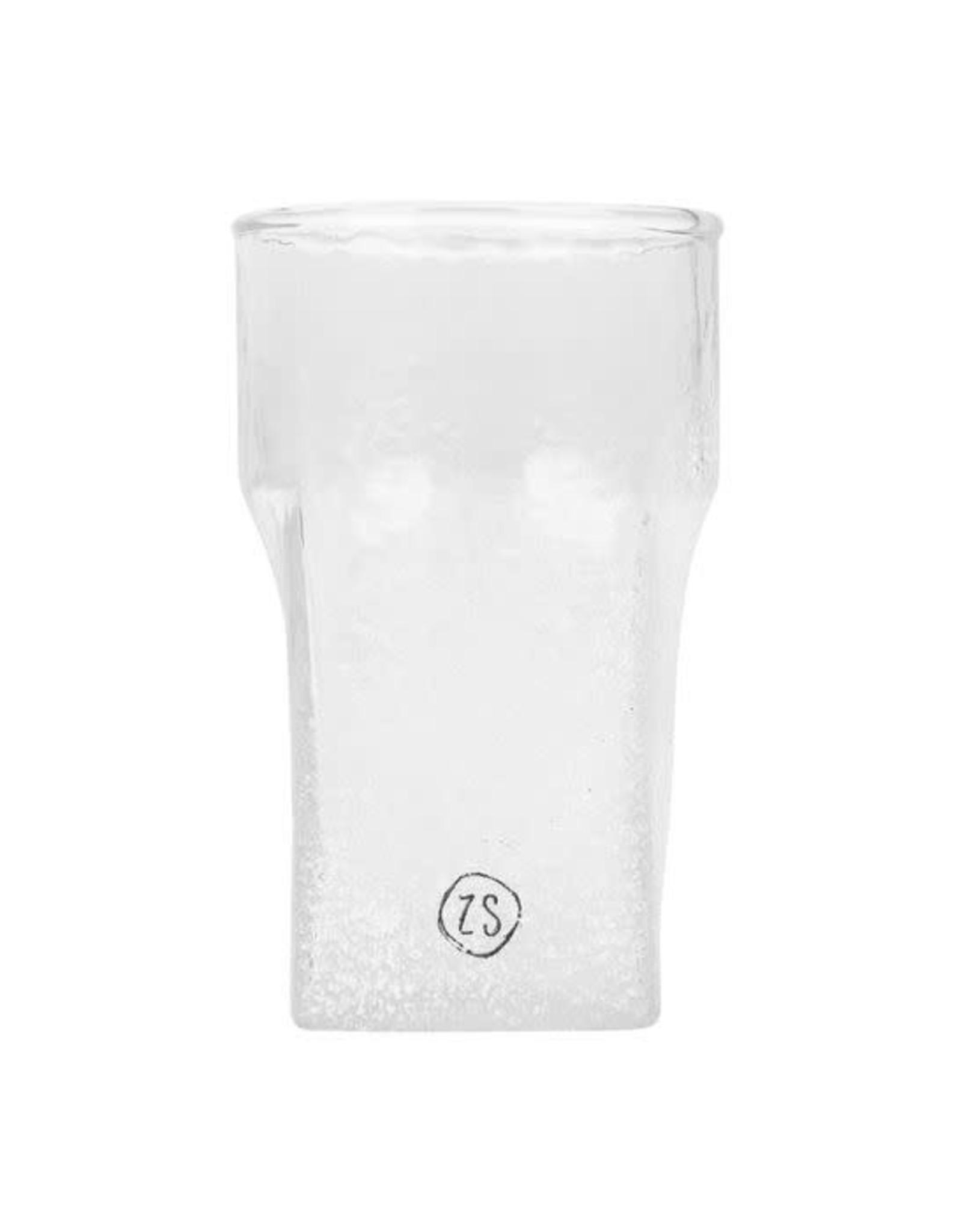 Zusss Zusss waxinelichthouder frosted glas