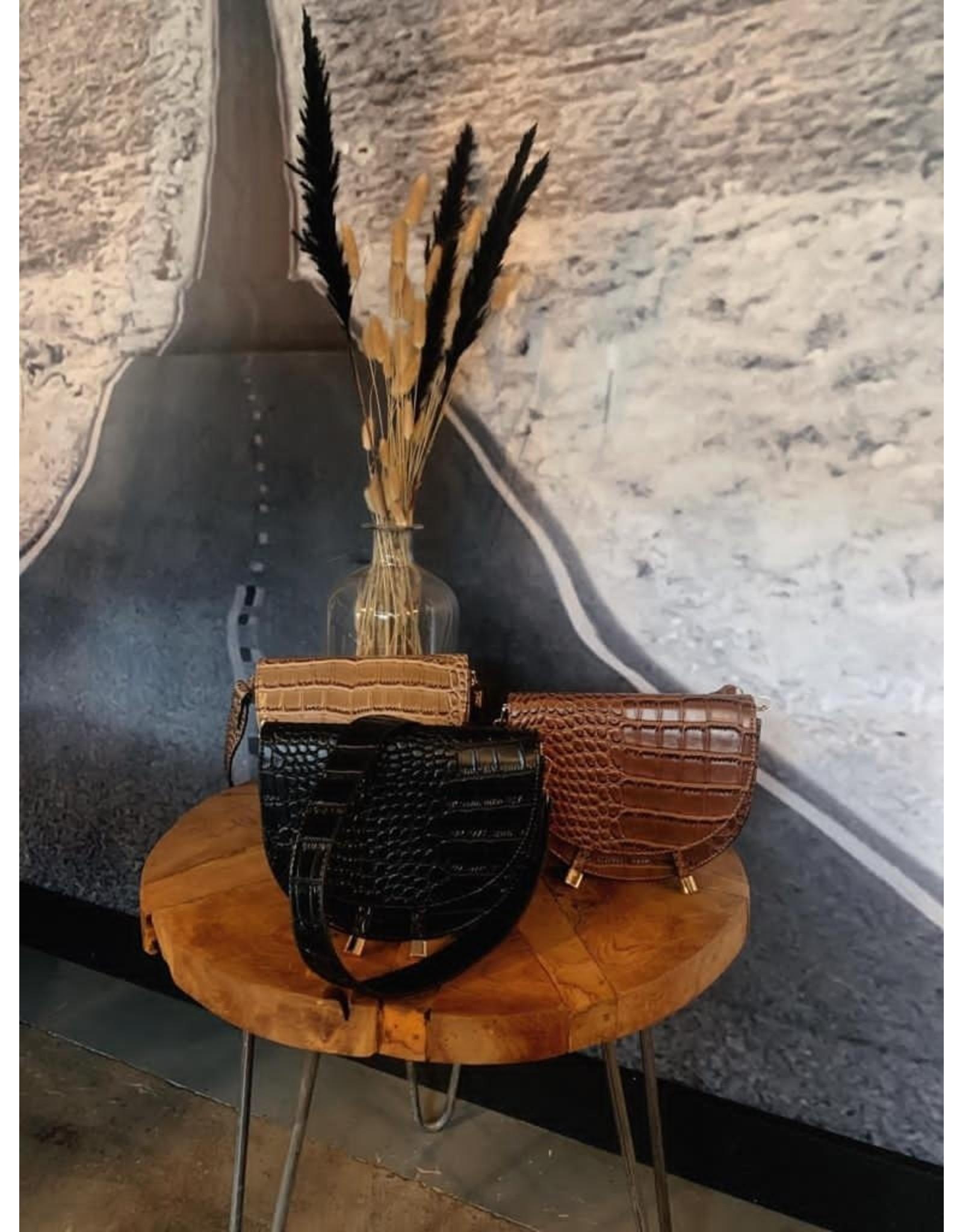 Elvy Elvy Ann saddle bag brown 307