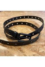 Elvy Elvy Eyelets belt woman black/black